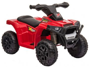 X Racer Mini Quad Bike Red 6v Electric Ride On ATV Style Toy